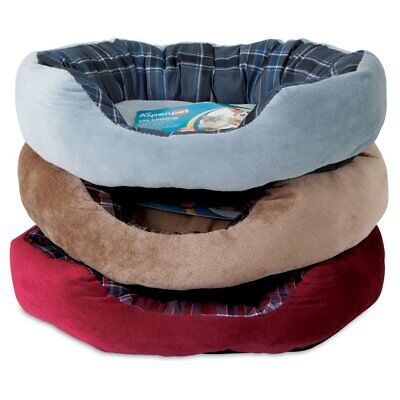Aspen Pet Oval Lounger Assorted / Cuddle Dog Bed