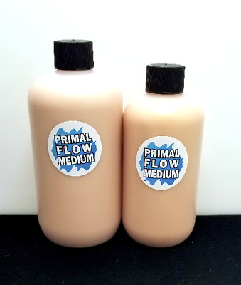 8oz Primal Flow Metallic Pouring Medium - Add a Shimmer To Any Acrylic Paint