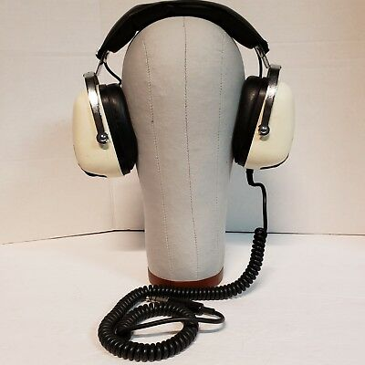 Vintage Sansui SS-20 2 Way 8ohm Stereo Headphones Tested Working