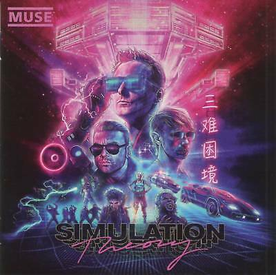 MUSE - SIMULATION THEORY CD....Brand New Sealed with Free Shipping!