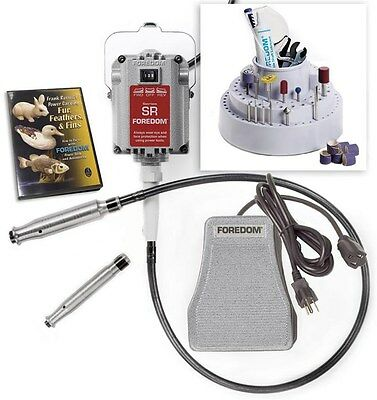 Foredom 5200-2 Woodcarving Kit 220 V Professional Wood Carvers Flex Shaft 5200