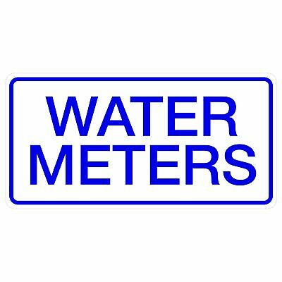 Miscellaneous Signs -  WATER METERS