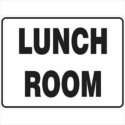 Construction Site Signs -  LUNCH ROOM