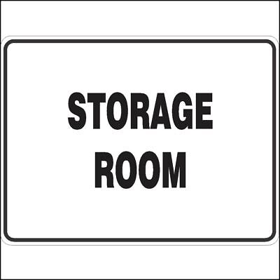 Construction Site Signs -  STORAGE ROOM