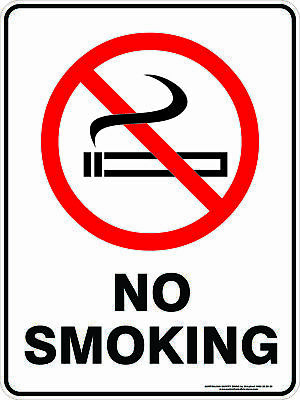 Prohibition Signs -  NO SMOKING