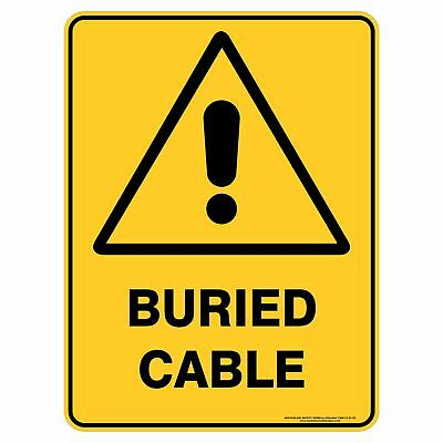 Warning Signs -  BURIED CABLE