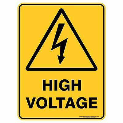 Warning Signs -  HIGH VOLTAGE
