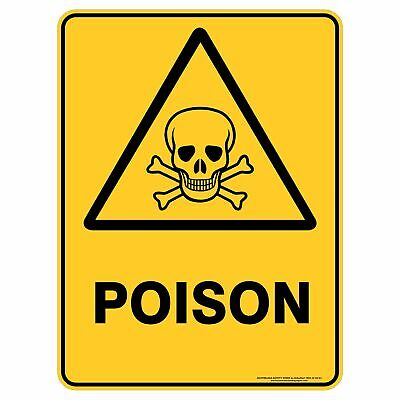 Warning Signs -  POISON