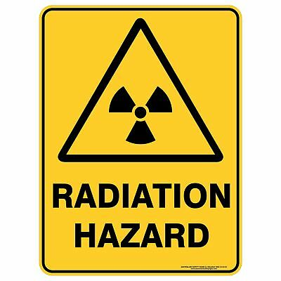 Warning Signs -  RADIATION HAZARD