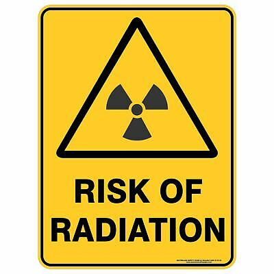 Warning Signs -  RISK OF RADIATION