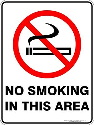 Prohibition Signs -  NO SMOKING IN THIS AREA