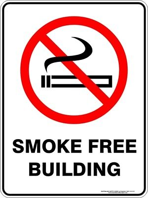 Prohibition Signs -  SMOKE FREE BUILDING