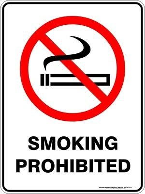 Prohibition Signs -  SMOKING PROHIBITED