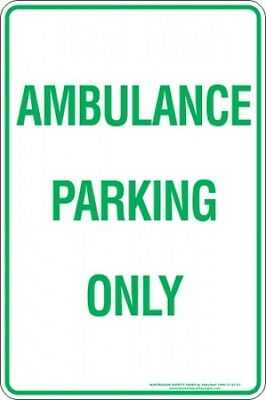 Parking Signs -  AMBULANCE PARKING ONLY