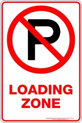 Parking Signs -  LOADING ZONE P
