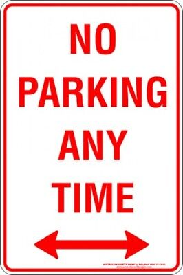 Parking Signs -  NO PARKING ANY TIME SPAN ARROW