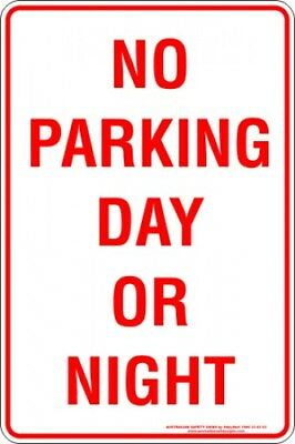 Parking Signs -  NO PARKING DAY OR NIGHT
