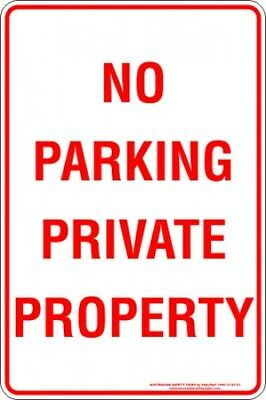 Parking Signs -  NO PARKING PRIVATE PROPERTY