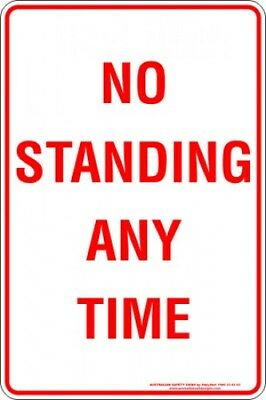 Parking Signs -  NO STANDING ANY TIME