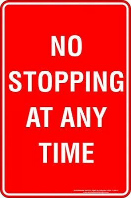 Parking Signs -  NO STOPPING AT ANY TIME