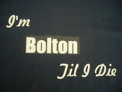 Bolton Wanderers T-Shirt or Sweat Shirt 4XL & 5XL Personalised Christmas Gift