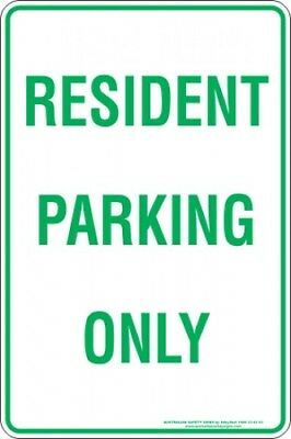 Parking Signs -  RESIDENT PARKING ONLY