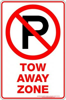 Parking Signs -  TOW AWAY ZONE P