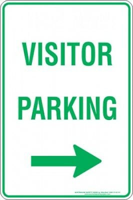 Parking Signs -  VISITOR PARKING ARROW RIGHT