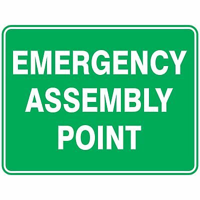 Emergency Signs -  EMERGENCY ASSEMBLY POINT