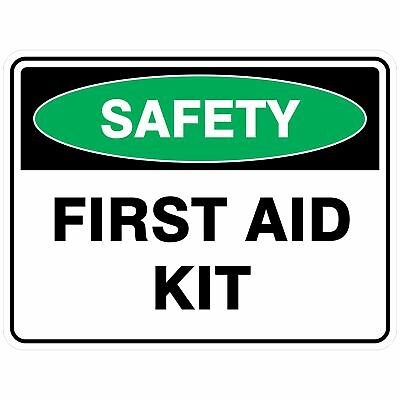 Emergency Signs -  FIRST AID KIT