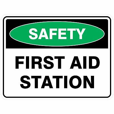 Emergency Signs -  FIRST AID STATION