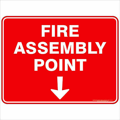 Fire Safety Signs -  FIRE ASSEMBLY POINT