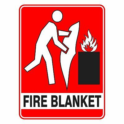 Fire Safety Signs -  FIRE BLANKET