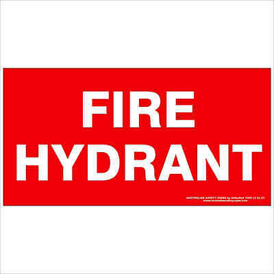 Fire Safety Signs -  FIRE HYDRANT 350