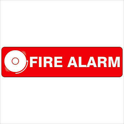 Fire Safety Signs -  FIRE ALARM 400