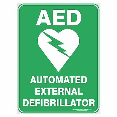 Emergency Signs -  AED - AUTOMATED EXTERNAL DEFIBRILLATOR