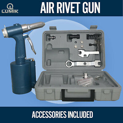 UPGRADE NUTSERT RIVETER Rivnut Gun Air Hydraulic Pop Rivet