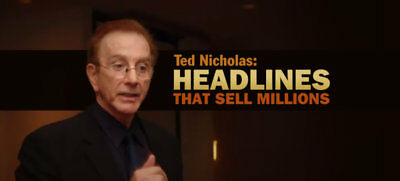 Ted Nicholas - 5 Colletion   Copywriting For Success + Magic Words + Million ...