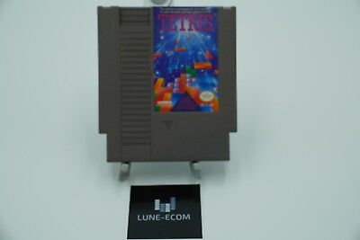 Tetris (Nintendo Entertainment System, 1989) NES CLEANED AND TESTED