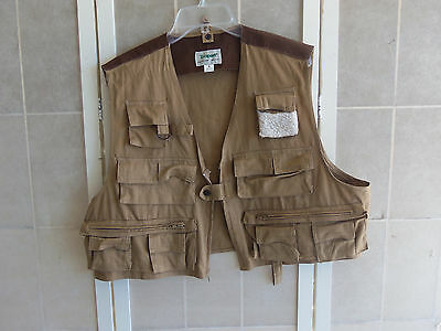 TexSport Fly  Fishing Outdoors Vest Size  Large