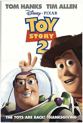 Toy Story 2 1999 27x40 Orig Movie Poster FFF-73082 Rolled Fine Tom Hanks
