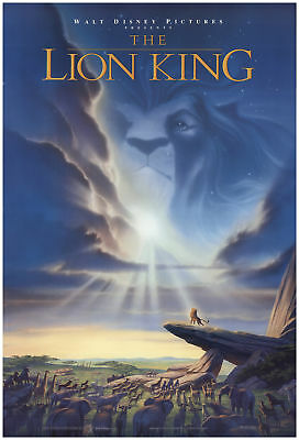 Image result for the lion king 1994 poster