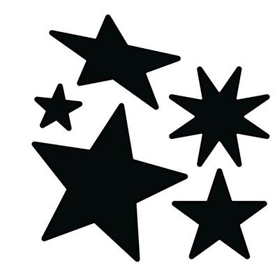 Die-versions - Super Stars metal die - for use in most cutting systems