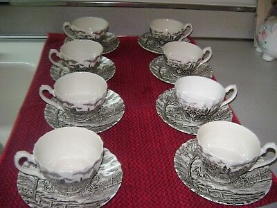 Royal Mail Fine Staffordshire Myott Cup and Saucer Made in England