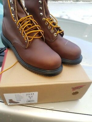 275bbc1a47f RED WING 2233 steel toe work boots