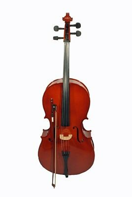 4/4 Cello including Bow and Bag from Cherrystone