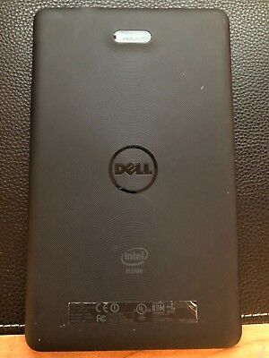 Dell Venue 8 16GB, Wi-Fi, 8-Inch - Black Tablet AS IS Cracked