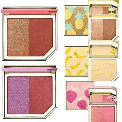 Fruit Blush Highlighter Bronzer Palette Shimmer Face Contour Eyeshadow Plate