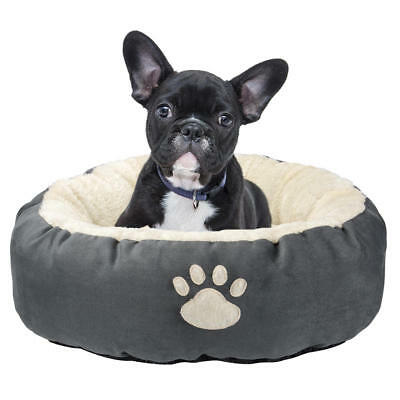 "LIVINGbasics® Round Solid Pet Bed For Cats or Small Dogs, 20"" x 20"" x 7"""