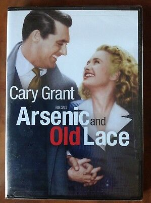 Arsenic and Old Lace (DVD, 2010) FACTORY SEALED